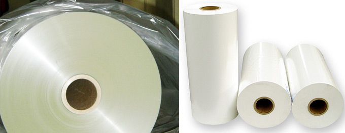 POLYESTER/BOPP FILM ROLLS CLEAR/PEARLISED/METALLIZED | Arya